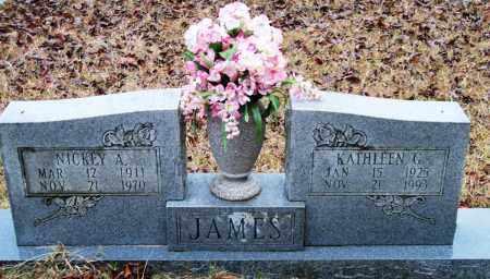 JAMES, KATHLEEN G - Cleveland County, Arkansas | KATHLEEN G JAMES - Arkansas Gravestone Photos