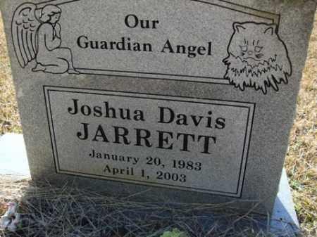 JARRETT, JOSHUA DAVIS - Cleveland County, Arkansas | JOSHUA DAVIS JARRETT - Arkansas Gravestone Photos