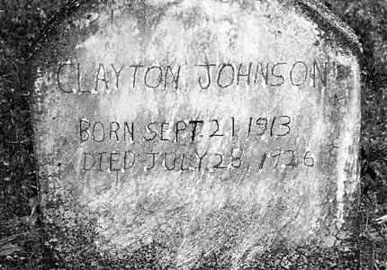 JOHNSON, CLAYTON - Cleveland County, Arkansas | CLAYTON JOHNSON - Arkansas Gravestone Photos