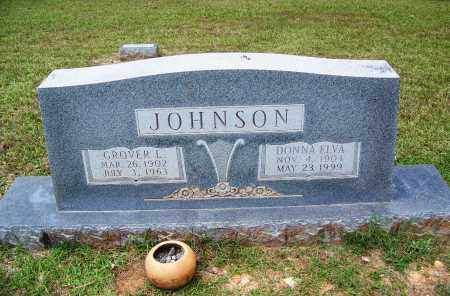 JOHNSON, DONNA ELVA - Cleveland County, Arkansas | DONNA ELVA JOHNSON - Arkansas Gravestone Photos