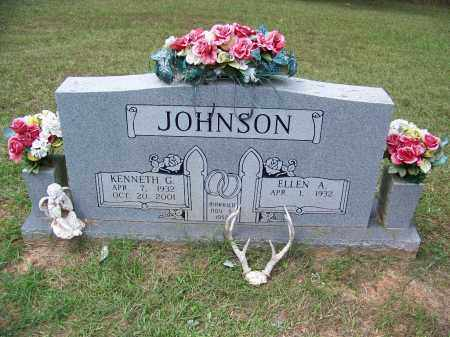 JOHNSON, KENNETH G - Cleveland County, Arkansas | KENNETH G JOHNSON - Arkansas Gravestone Photos