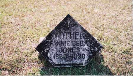 WILLIAMS JONES, FRANCES BEDA - Cleveland County, Arkansas | FRANCES BEDA WILLIAMS JONES - Arkansas Gravestone Photos