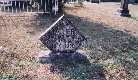 JONES VETERAN CSA), NATHAN HENRY - Cleveland County, Arkansas | NATHAN HENRY JONES VETERAN CSA) - Arkansas Gravestone Photos