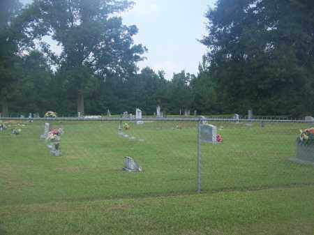 *CANADA CEMETERY OVERVIEW,  - Cleveland County, Arkansas |  *CANADA CEMETERY OVERVIEW - Arkansas Gravestone Photos