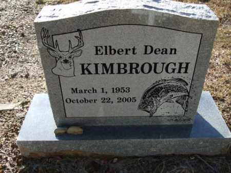 KIMBROUGH, ELBERT DEAN - Cleveland County, Arkansas | ELBERT DEAN KIMBROUGH - Arkansas Gravestone Photos