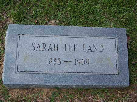 LAND LEE, SARAH - Cleveland County, Arkansas | SARAH LAND LEE - Arkansas Gravestone Photos