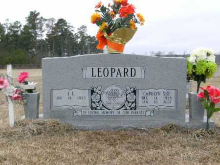 LEOPARD, CAROLYN  SUE - Cleveland County, Arkansas | CAROLYN  SUE LEOPARD - Arkansas Gravestone Photos