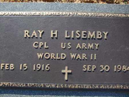 LISEMBY (VETERAN WWII), RAY H. - Cleveland County, Arkansas | RAY H. LISEMBY (VETERAN WWII) - Arkansas Gravestone Photos
