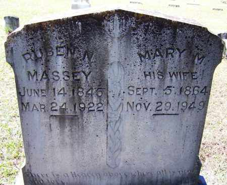MASSEY, RUBEN N - Cleveland County, Arkansas | RUBEN N MASSEY - Arkansas Gravestone Photos