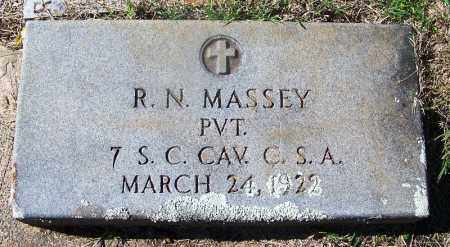 MASSEY (VETERAN CSA), RUBEN N - Cleveland County, Arkansas | RUBEN N MASSEY (VETERAN CSA) - Arkansas Gravestone Photos