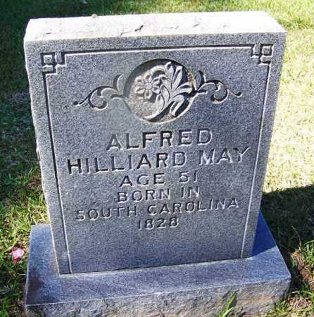 MAY, ALFRED HILLIARD - Cleveland County, Arkansas | ALFRED HILLIARD MAY - Arkansas Gravestone Photos