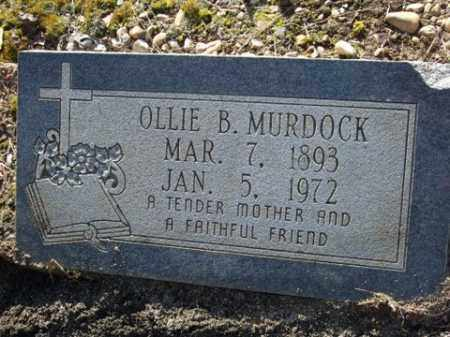 REEVES MURDOCK, OLLIE - Cleveland County, Arkansas | OLLIE REEVES MURDOCK - Arkansas Gravestone Photos