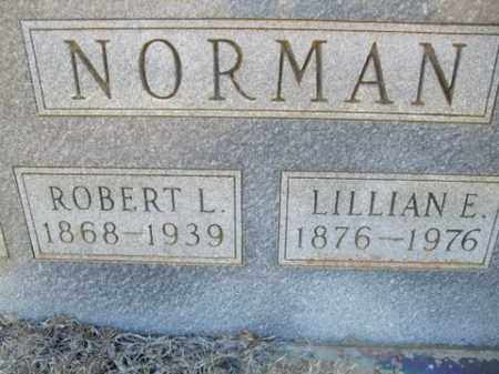 NORMAN, LILLIAN E. - Cleveland County, Arkansas | LILLIAN E. NORMAN - Arkansas Gravestone Photos