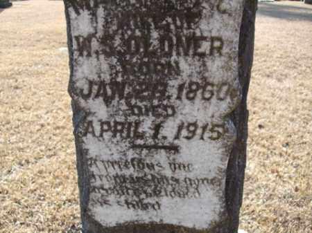 OLDNER, MARGRET CATHERINE VARNELL - Cleveland County, Arkansas | MARGRET CATHERINE VARNELL OLDNER - Arkansas Gravestone Photos