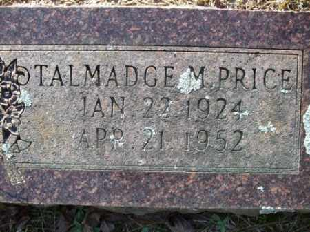 PRICE, TALMADGE M. - Cleveland County, Arkansas | TALMADGE M. PRICE - Arkansas Gravestone Photos