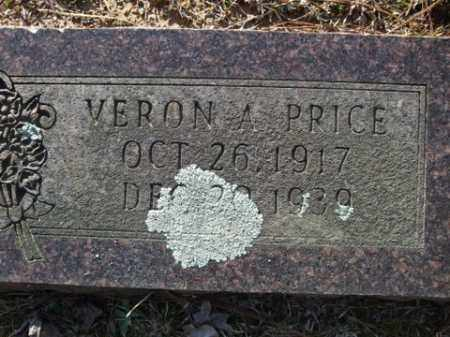 PRICE, VERON A. - Cleveland County, Arkansas | VERON A. PRICE - Arkansas Gravestone Photos