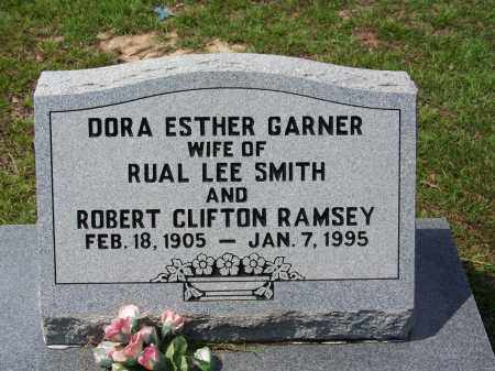 RAMSEY, DORA ESTHER - Cleveland County, Arkansas | DORA ESTHER RAMSEY - Arkansas Gravestone Photos