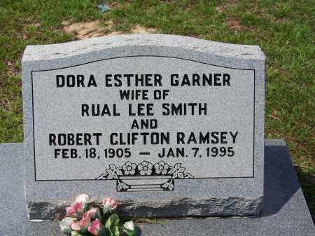 GARNER RAMSEY, DORA ESTHER - Cleveland County, Arkansas | DORA ESTHER GARNER RAMSEY - Arkansas Gravestone Photos
