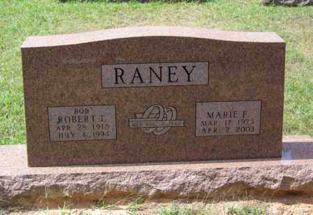 RANEY, MARIE F - Cleveland County, Arkansas | MARIE F RANEY - Arkansas Gravestone Photos