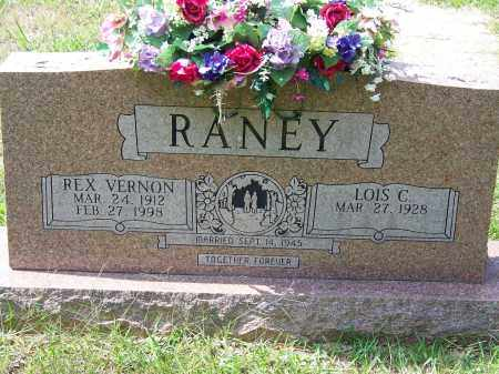 RANEY, REX VERNON - Cleveland County, Arkansas | REX VERNON RANEY - Arkansas Gravestone Photos