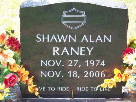 RANEY, SHAWN ALAN - Cleveland County, Arkansas | SHAWN ALAN RANEY - Arkansas Gravestone Photos