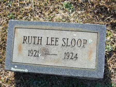 SLOOP, RUTH LEE - Cleveland County, Arkansas | RUTH LEE SLOOP - Arkansas Gravestone Photos