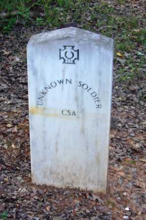 SOLDIER (VETERAN CSA), UNKNOWN - Cleveland County, Arkansas | UNKNOWN SOLDIER (VETERAN CSA) - Arkansas Gravestone Photos