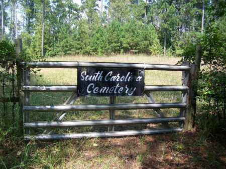 *SOUTH CAROLINA, CEMETERY GATE - Cleveland County, Arkansas | CEMETERY GATE *SOUTH CAROLINA - Arkansas Gravestone Photos