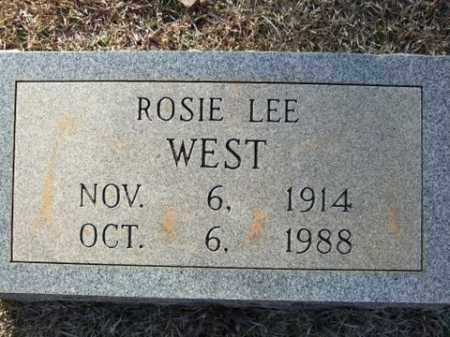WEST, ROSIE LEE - Cleveland County, Arkansas | ROSIE LEE WEST - Arkansas Gravestone Photos