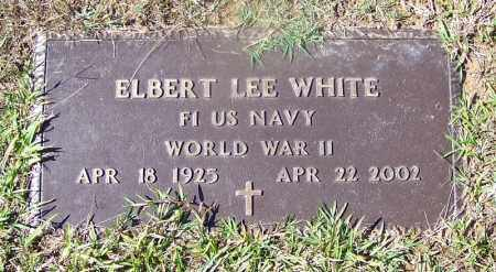 WHITE (VETERAN WWII), ELBERT LEE - Cleveland County, Arkansas | ELBERT LEE WHITE (VETERAN WWII) - Arkansas Gravestone Photos