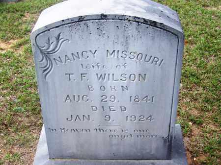 WILSON, NANCY MISSOURI - Cleveland County, Arkansas | NANCY MISSOURI WILSON - Arkansas Gravestone Photos