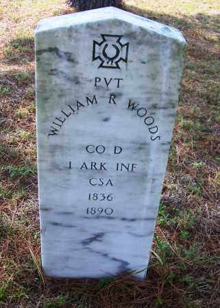 WOOD (VETERAN CSA), WILLIAM R - Cleveland County, Arkansas | WILLIAM R WOOD (VETERAN CSA) - Arkansas Gravestone Photos
