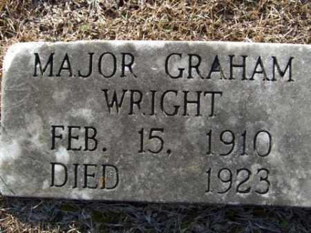 WRIGHT, MAJOR GRAHAM - Cleveland County, Arkansas | MAJOR GRAHAM WRIGHT - Arkansas Gravestone Photos