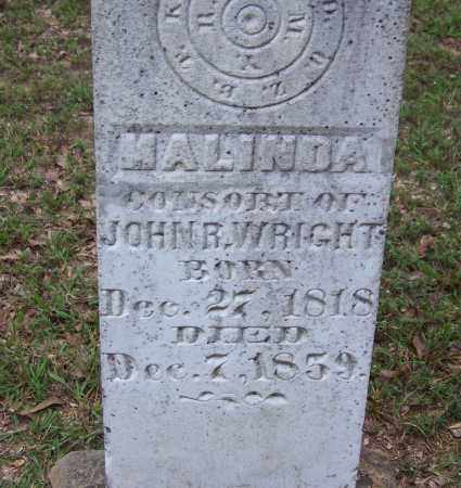WRIGHT, MALINDA - Cleveland County, Arkansas | MALINDA WRIGHT - Arkansas Gravestone Photos