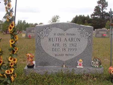 AARON, RUTH - Columbia County, Arkansas | RUTH AARON - Arkansas Gravestone Photos