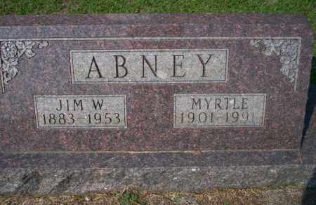 ABNEY, MYRTLE - Columbia County, Arkansas | MYRTLE ABNEY - Arkansas Gravestone Photos