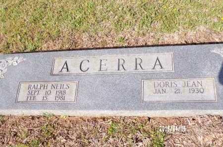 ACERRA, RALPH NEILS - Columbia County, Arkansas | RALPH NEILS ACERRA - Arkansas Gravestone Photos
