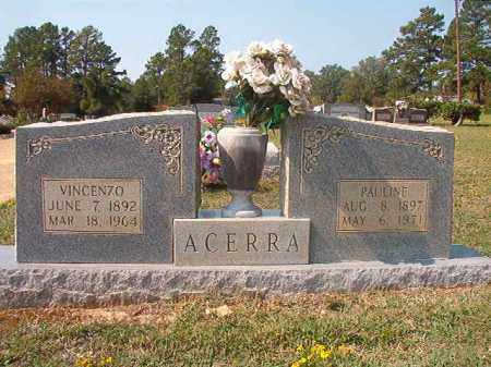 ACERRA, PAULINE - Columbia County, Arkansas | PAULINE ACERRA - Arkansas Gravestone Photos