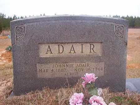 ADAIR, JOHNNIE - Columbia County, Arkansas | JOHNNIE ADAIR - Arkansas Gravestone Photos