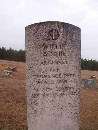 ADAIR (VETERAN WWI), WILLIE - Columbia County, Arkansas | WILLIE ADAIR (VETERAN WWI) - Arkansas Gravestone Photos