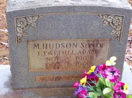 ADAMS, M HUDSON - Columbia County, Arkansas | M HUDSON ADAMS - Arkansas Gravestone Photos