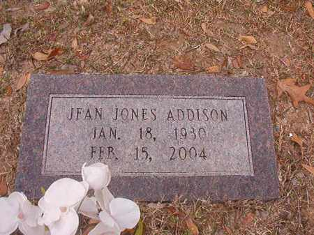 JONES ADDISON, JEAN - Columbia County, Arkansas | JEAN JONES ADDISON - Arkansas Gravestone Photos