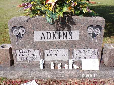 ADKINS, MELVIN J - Columbia County, Arkansas | MELVIN J ADKINS - Arkansas Gravestone Photos