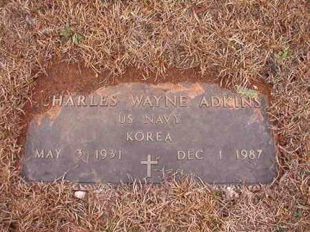ADKINS (VETERAN KOR), CHARLES WAYNE - Columbia County, Arkansas | CHARLES WAYNE ADKINS (VETERAN KOR) - Arkansas Gravestone Photos