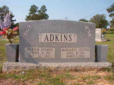 STEVENS ADKINS, MARGARET - Columbia County, Arkansas | MARGARET STEVENS ADKINS - Arkansas Gravestone Photos