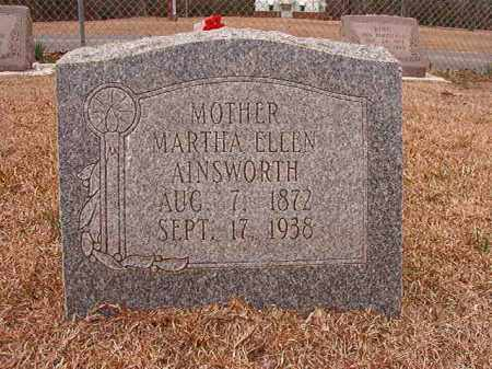 AINSWORTH, MARTHA ELLEN - Columbia County, Arkansas | MARTHA ELLEN AINSWORTH - Arkansas Gravestone Photos