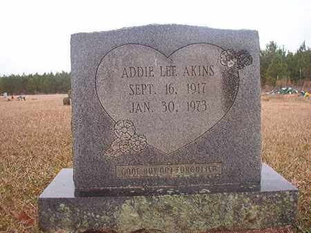 AKINS, ADDIE LEE - Columbia County, Arkansas | ADDIE LEE AKINS - Arkansas Gravestone Photos