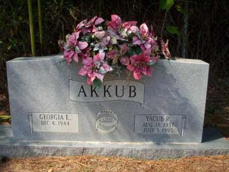 AKKUB, YACUB R - Columbia County, Arkansas | YACUB R AKKUB - Arkansas Gravestone Photos
