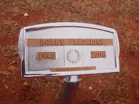 ALDRIDGE, BOBBY - Columbia County, Arkansas | BOBBY ALDRIDGE - Arkansas Gravestone Photos