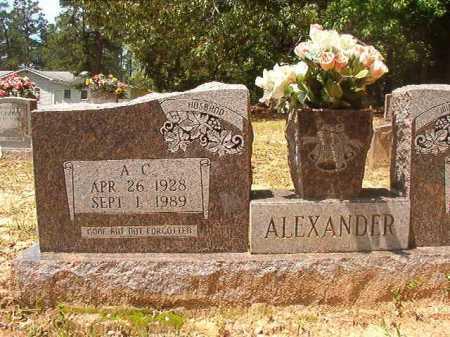 ALEXANDER, A C - Columbia County, Arkansas | A C ALEXANDER - Arkansas Gravestone Photos